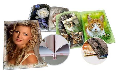 Luxusní fotokniha z vašich fotografií v různých formátech