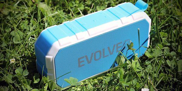 Přenosný reproduktor Evolveo FX7 (ARM-FX7-BLUE) bílé/modré4