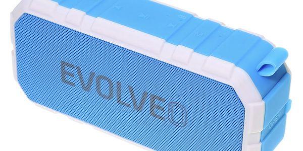 Přenosný reproduktor Evolveo FX7 (ARM-FX7-BLUE) bílé/modré5