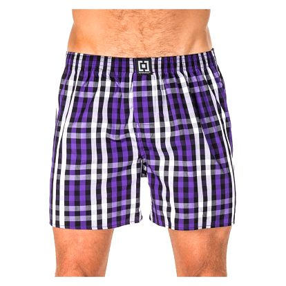 Pánské Trenky Horsefeathers Sin Boxer Shorts Deep Violet L