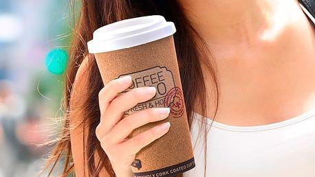 Termoláhev z Recyklovaného Korku Coffee To Go