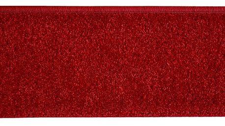 VOPI Nášlap na schody Eton obdelník vínová, 24 x 65 cm