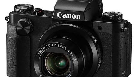 Digitální fotoaparát Canon PowerShot G5 X černý + DOPRAVA ZDARMA