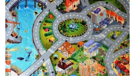 Vopi Dětský koberec Ultra Soft Město