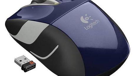 Myš Logitech Wireless Mouse M525 (910-004933) modrá + Doprava zdarma