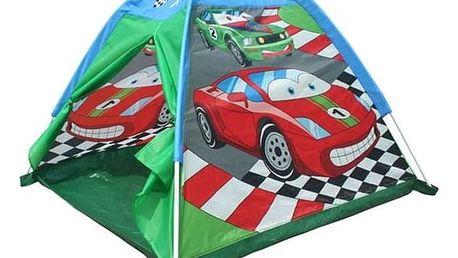 Stan dětský Acra ST09 s potiskem - auta červený/modrý/zelený
