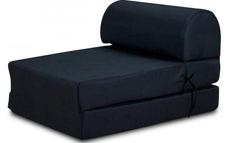 Marino-křeslo,rozkládací (tuill black,sk. MR-1)