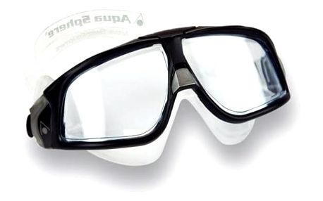 Brýle plavecké pánské Aqua Sphere Seal 2.0 clear černé/šedé