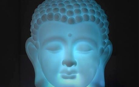 LED Buddha Hlava