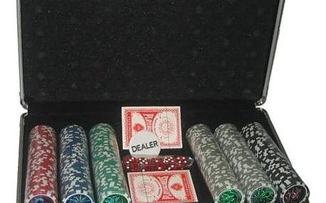 Poker Master 300 v alu kufru s označením hodnot + Doprava zdarma