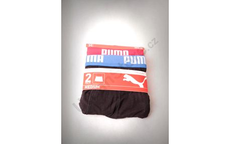 Trenýrky Puma Basic Boxer 2 Pack red-blue