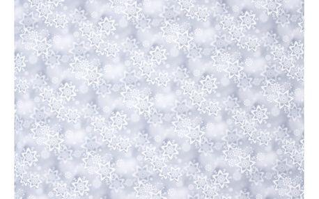 Forbyt Vánoční ubrus Snowflakes, 85 x 85 cm, 85 x 85 cm