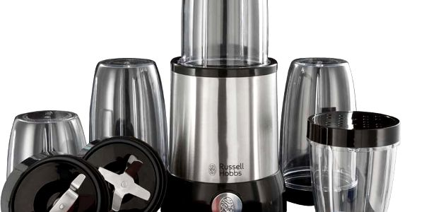 Stolní mixér RUSSELL HOBBS NUTRIBOOST 23180-56 černý/nerez2