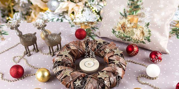 Forbyt Vánoční ubrus Vánoční stromeček, 120 x 140 cm, 120 x 140 cm2