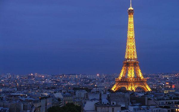 4-denní poznávací zájezd do Paříže na Valentýna v termínu 15-18.2.2018
