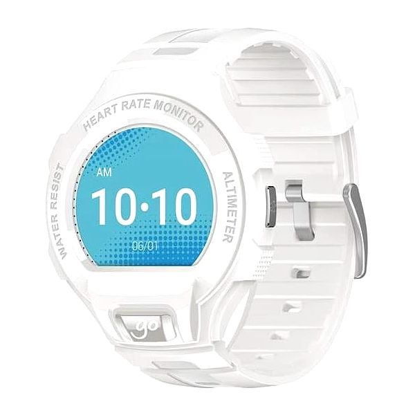 Chytré hodinky ALCATEL ONETOUCH GO WATCH SM03, White/Light Grey (SM03-2AALXE7)