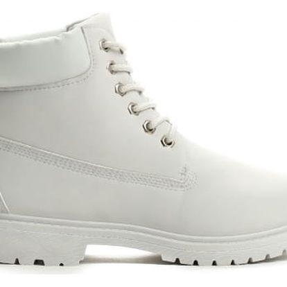 Dámské světle šedé kotníkové boty Petty 800