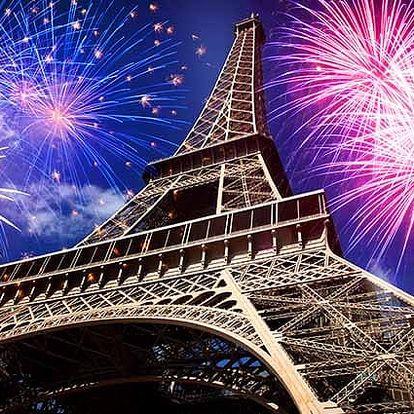 3denní silvestrovský zájezd pro 1 do Paříže s lahví sektu do páru