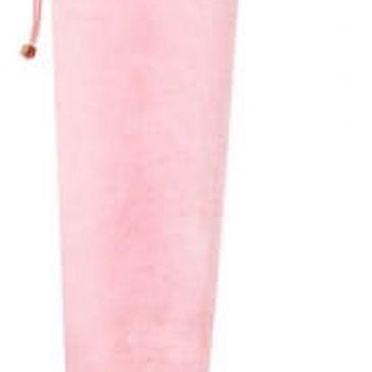Dámské růžové sametové kozačky Amanda 8170A