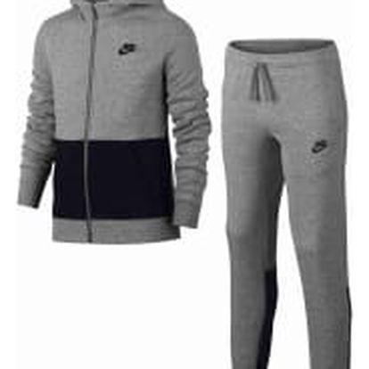 Dětská souprava Nike B NSW TRK SUIT BF   832556-063   Černá, Šedá   L