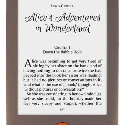 Čtečka e-knih Pocket Book 615 Basic Lux (PB615W-X-WW) hnědá