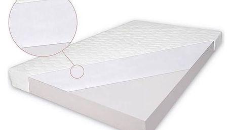Matrace do postýlky Baby Sky pohanka-pěna 140x70x7 cm bílá