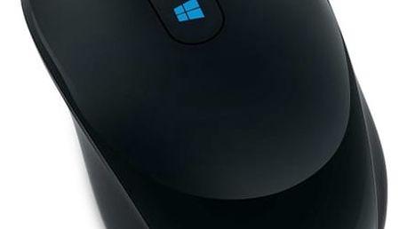 Myš Microsoft Sculpt Mobile (43U-00004) černá / BlueTrack / 3 tlačítka / 1000dpi
