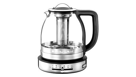 KitchenAid Artisan 5KEK1322ESS skleněná konvice na čaj