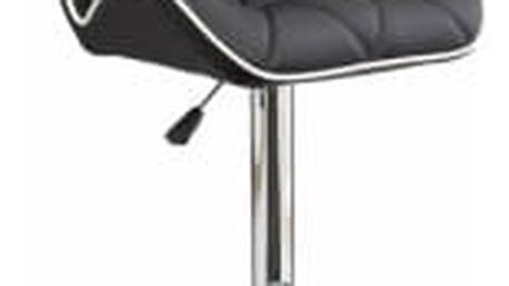 Barová židle CL-3227 BK černá