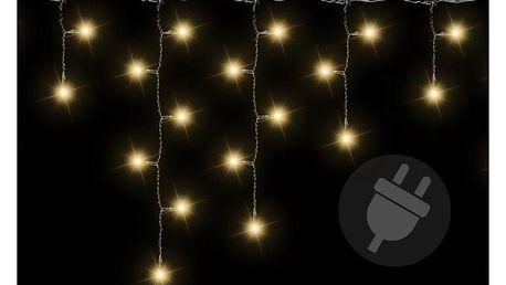 Osvětlení vánoční - déšť světelný 600 - teplá bílá - 11,9m - 18000056