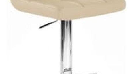 Barová židle CL-3232-1 WT krémová