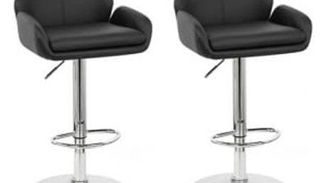 2x Barová židle Hawaj CL-3335-2 | černá