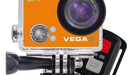 Outdoorová kamera Niceboy VEGA 4K - Limited edition 2017 oranžová + DOPRAVA ZDARMA