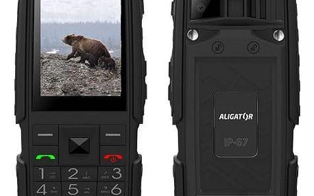 Mobilní telefon Aligator R20 eXtremo (AR20BB) černý