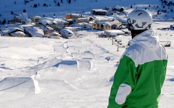 Itálie, Dolomiti Adamello Brenta, vlastní dopravou na 5 dní polopenze
