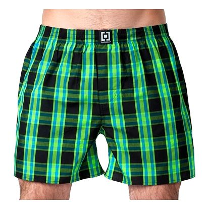 Pánské Trenky Horsefeathers Sin Boxer Shorts Black XL