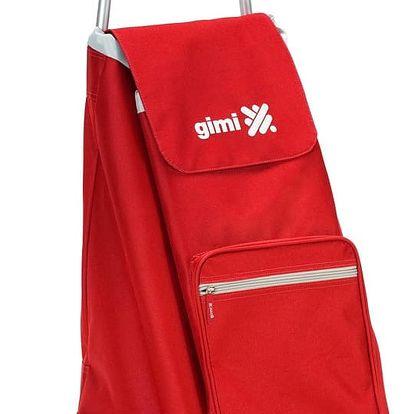 Gimi Argo Nákupní taška na kolečkách červená