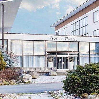2denní wellness pobyt pro 8 nebo 10 osob ve vilách hotelu Orlík u Orlíku