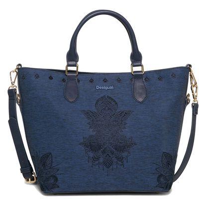 Desigual modrá kabelka Florida Soft Mehndi
