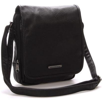 Pánská taška přes rameno černá - Enrico Benetti Gage černá
