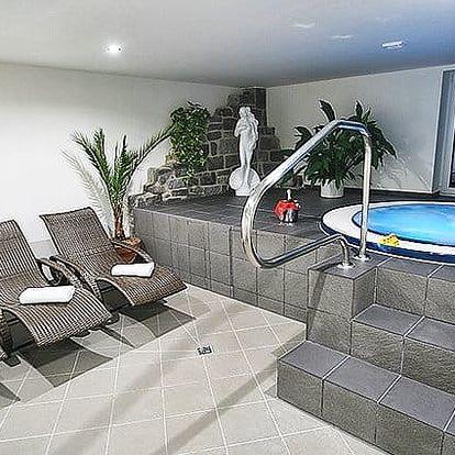 3denní pobyt s polopenzí a možností wellness pro 2 v hotelu Hrazany u Slapské přehrady