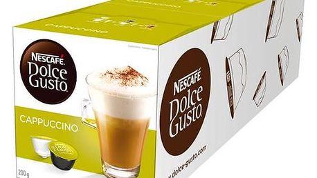 Kapsle pro espressa Nescafé Dolce Gusto Cappuccino 3 balení