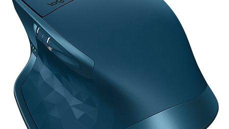 Myš Logitech MX Master 2S (910-005140) modrá / Darkfield / 7 tlačítek / 4000dpi