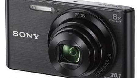 Digitální fotoaparát Sony DSC-W830B černý + Doprava zdarma