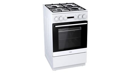 Kombinovaný sporák Mora Premium K 521 BW bílý