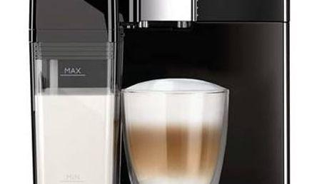 Espresso Philips EP3551/00 černé + Káva BIO zrnková Uganda 250 g Simon Lévelt v hodnotě 159 Kč + Doprava zdarma