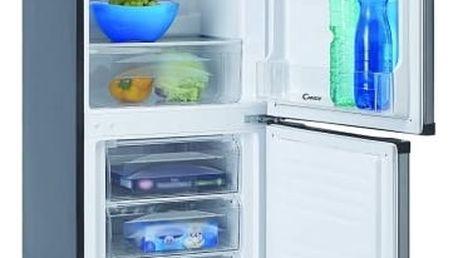 Kombinace chladničky s mrazničkou Candy CCBS 5154X nerez + DOPRAVA ZDARMA