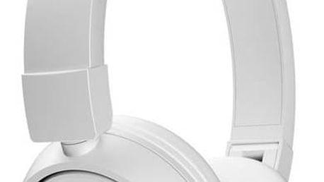 Sluchátka JBL T450BT Bluetooth (JBL T450BT WHT) bílá + Doprava zdarma