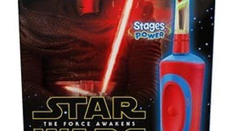Zubní kartáček Oral-B Vitality Star Wars + penál + dárek Plyšová hračka ANGRY BIRDS v hodnotě 199 Kč