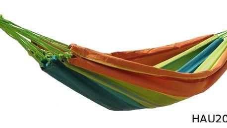 Bavlněná houpací síť DUVLAN 200 x 130 cm Barva: HAU202